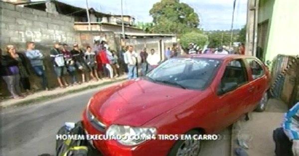 Homem é executado com 14 tiros dentro de carro em São José da ...