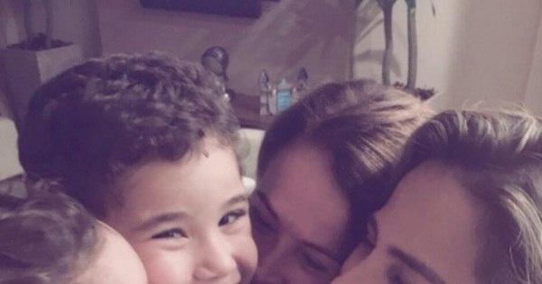 Zilu mostra momento de carinho com Wanessa e netos nas redes ...