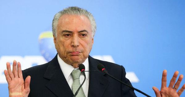 Temer: Se tivesse cometido delito citado por Machado, não teria ...