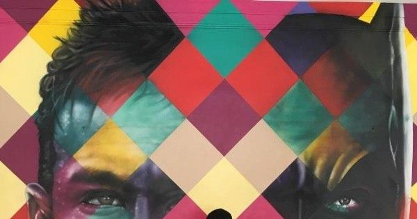 Mural de Neymar feito por Kobra faz sucesso nas redes sociais ...