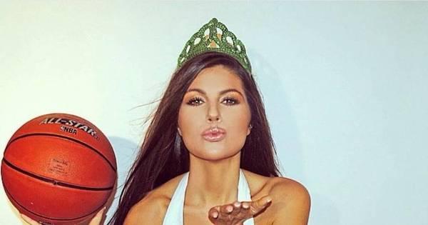 Modelo apaixonada por basquete vai deixar você de queixo caído ...