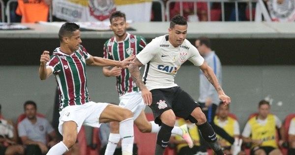 Sem Tite, Corinthians perde para o Fluminense em Brasília pelo ...