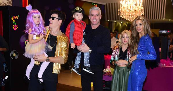 Rodrigo Faro e Vera Viel comemoram o aniversário das filhas em ...