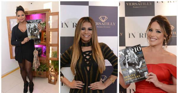Famosos marcam presença em lançamento da Magazine in Rio ...