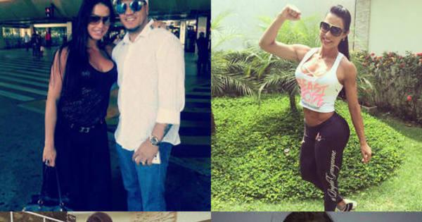 As mudanças de Gracyanne Barbosa ao longo de 4 anos de ...
