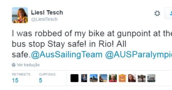 Atleta australiana relata assalto à mão armada no Rio - Rede record ...