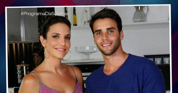 "Ivete Sangalo conta que foi surpreendida por Daniel Cady: "" Chegou ..."