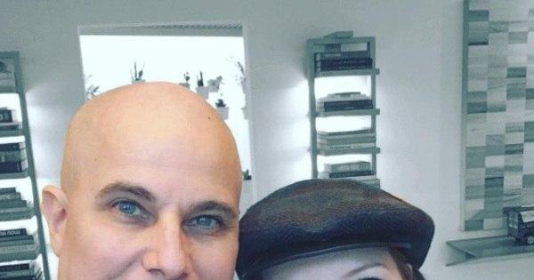 Namorada de Edson Celulari diz que ator tem encarado câncer com ...