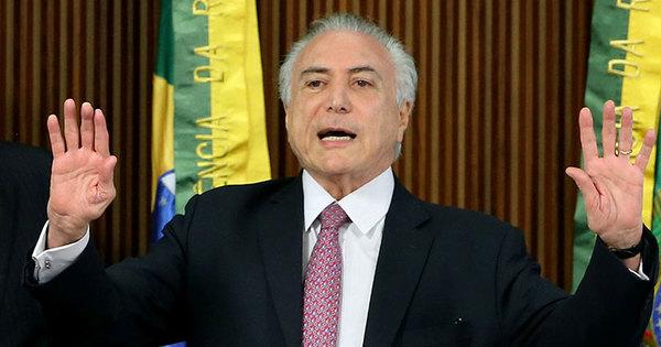 Temer foi 'pego de surpresa' com renúncia de Cunha, afirma ...