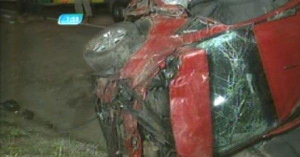 Ladrão morre após capotar carro roubado na BR- 040 - Notícias - R7 ...