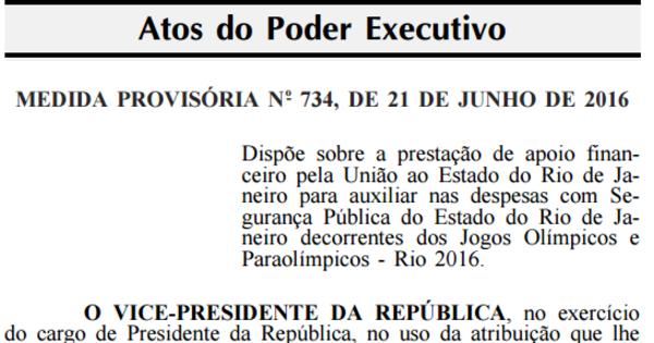 Governo federal publica medida provisória com socorro de R$ 2,9 bi ...