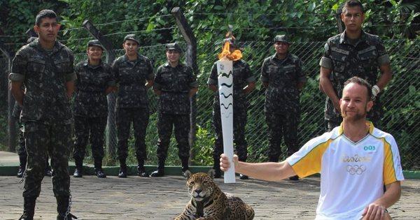 Rio 2016 reconhece erro ao exibir onça acorrentada na cerimônia ...