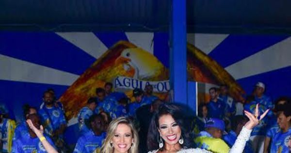 Luisa Mell cai no samba e vira embaixadora da Águia de Ouro ...