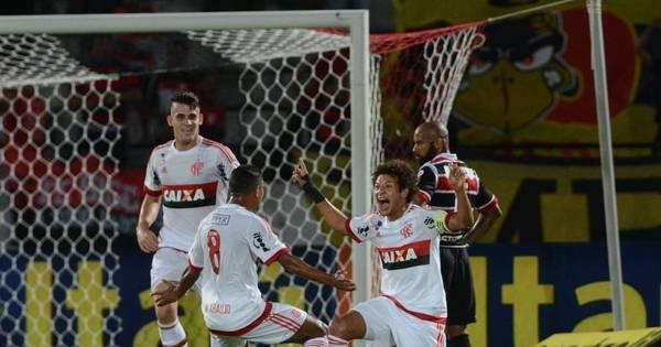 Com golaço de Willian Arão, Flamengo vence Santa Cruz no Arruda ...