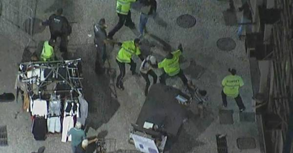 Vídeo mostra agressão contra manifestantes no centro do Rio ...