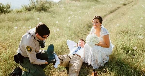 Noivo leva picada de cobra durante ensaio de recém-casados e o ...