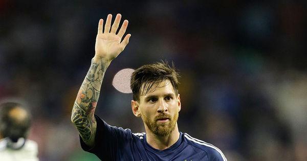 Messi se torna o maior artilheiro da seleção argentina - Esportes ...
