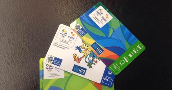 Cartão para transporte durante as Olimpíadas começa a ser ...