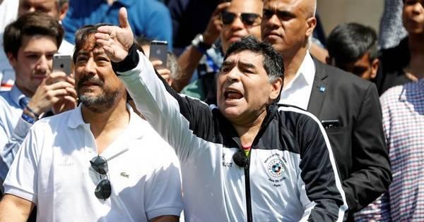 'Se não ganharmos, que os jogadores nem voltem', diz Maradona ...