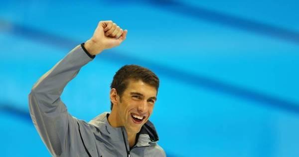 Pela primeira vez na cerimônia de abertura das Olimpíadas, Phelps ...