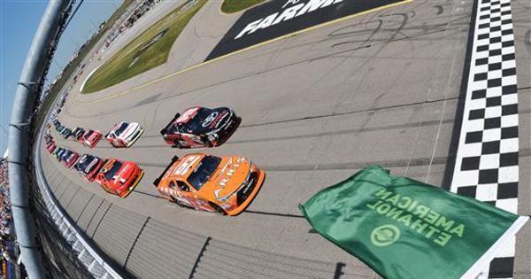 Sam Hornish Jr. vence a corrida no Iowa Speedway - Fotos - R7 ...