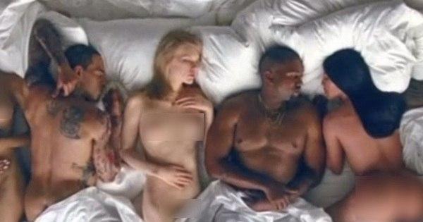 Kanye West diz que clipe polêmico com celebridades nuas foi feito ...