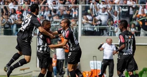 Robinho marca e Atlético- MG bate o América-MG pela primeira vez ...