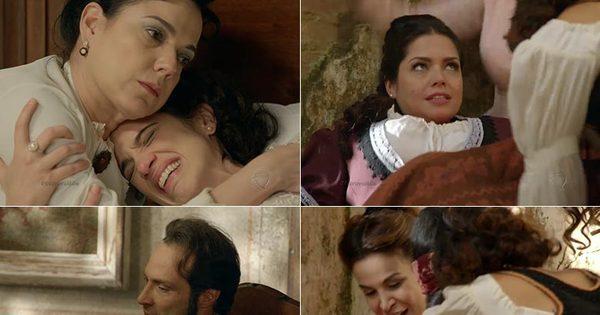 Enquanto Maria Isabel tem seu filho, Teresa perde o bebê; veja as ...