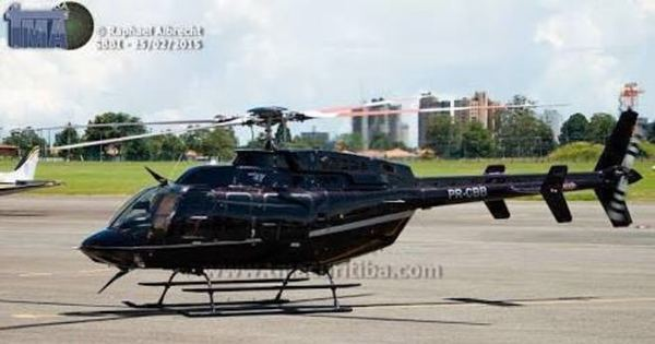Comandante Hamilton encontra área em que helicóptero ...