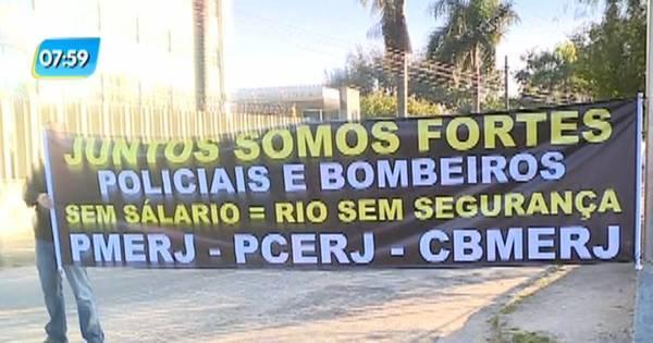 Delegados de Polícia Civil do Rio fazem paralisação nesta segunda ...