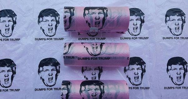 Opositores de Trump sugerem presentes bizarros com o rosto do ...