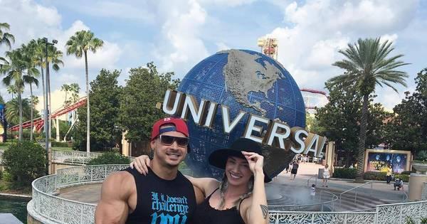 Juju Salimeni e Felipe Franco aproveitam férias em Orlando, nos ...