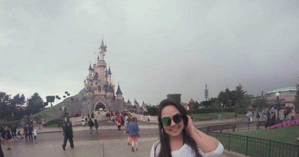 """Mulher Melancia visita a EuroDisney: """"Vou voltar a ser criança ..."""