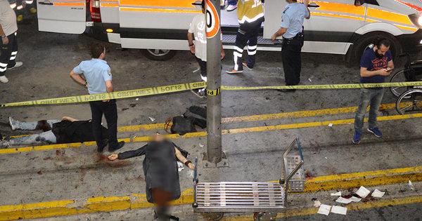Explosões e tiros em aeroporto de Istambul deixam dezenas de ...