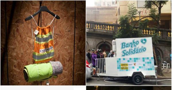 Emprego, banho e comida: veja iniciativas que ajudam moradores ...