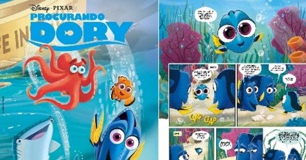 Filme Procurando Dory ganha também versão de história em ...