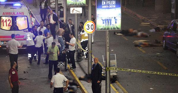 Veja imagens do terror e da destruição no aeroporto de Istambul ...