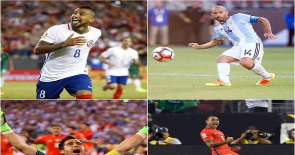 Seleção dos melhores da Copa América Centenário é dominada ...