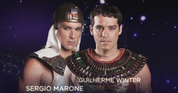Após sucesso de Os Dez Mandamentos, Guilherme Winter e Sergio ...