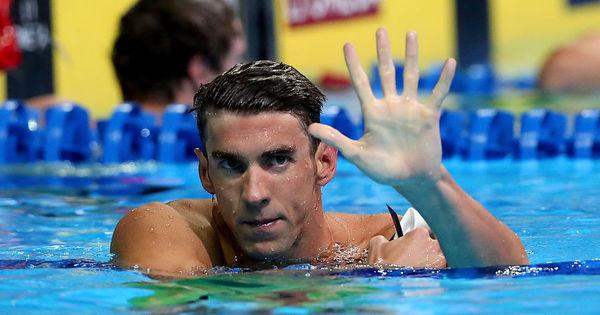 Michael Phelps irá disputar sua 5ª Olimpíada; veja a evolução deste ...