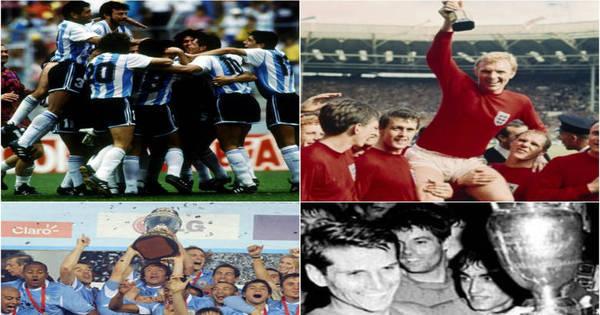Após derrotas, Argentina e Inglaterra vivem maior jejum de título de ...