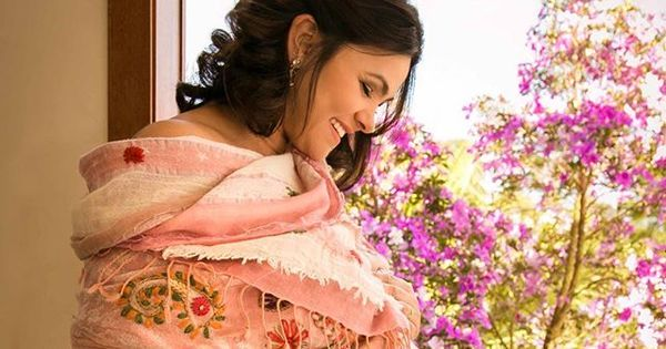 "Suzana Alves dá à luz Benjamin e marido comemora: ""Ele chegou ..."