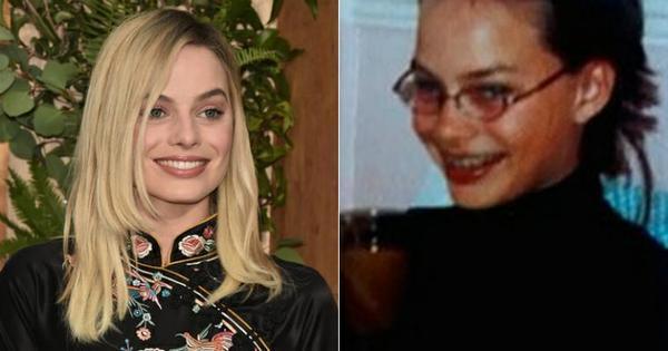 Margot Robbie aparece irreconhecível em foto da adolescência ...