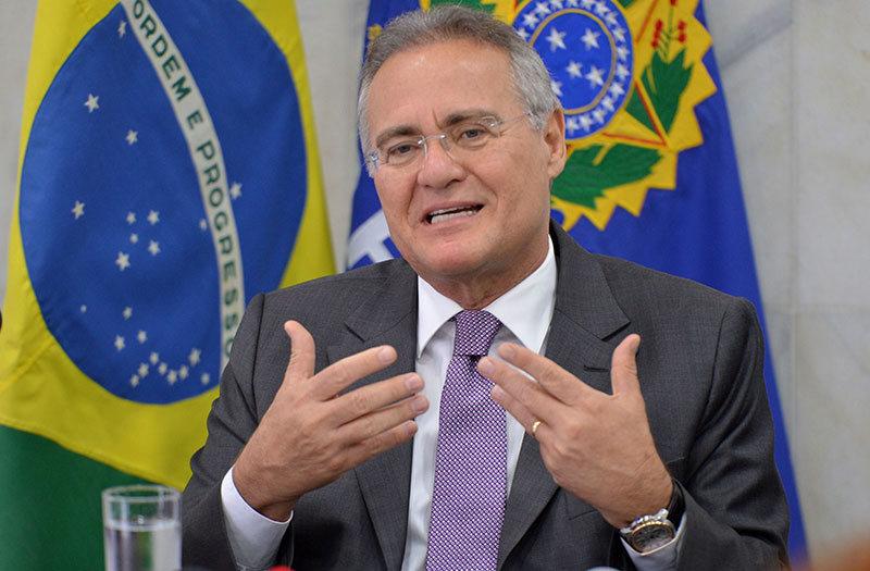 Após reunião com governadores, Renan anuncia ajuda para estados