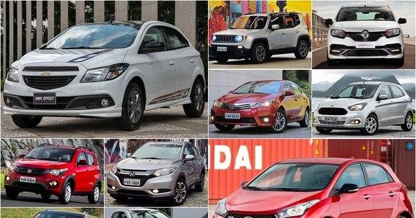Veja os 50 carros mais vendidos de 2016 até junho - Fotos - R7 ...