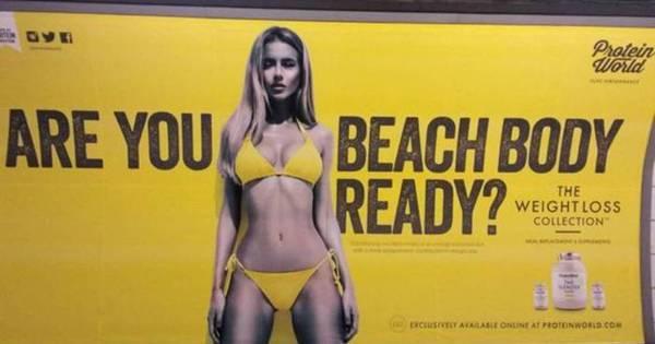 O inédito veto no transporte público de Londres a publicidade com ...