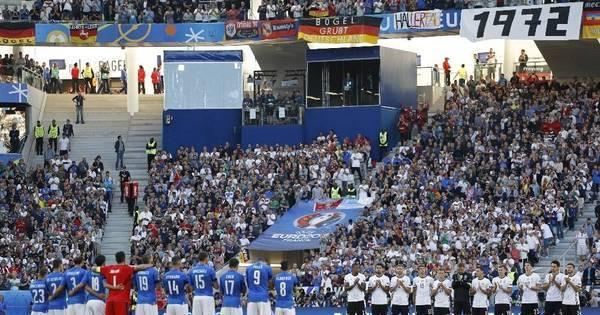 Duelo de titãs! Alemanha vai vencendo a Itália pelas quartas de ...