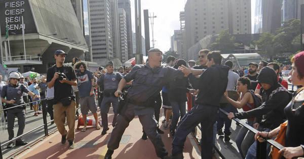 Manifestação de simpatizantes de Bolsonaro causa tumulto no Rio ...
