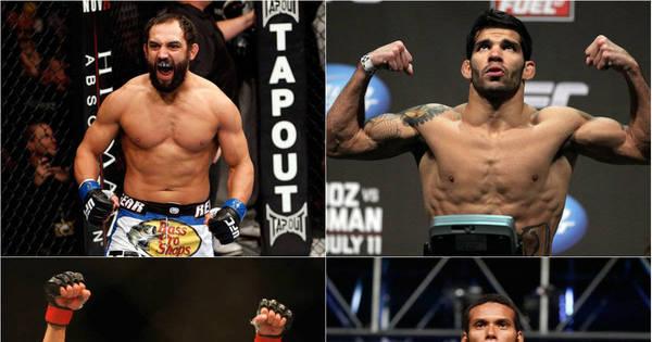 Brasileiros e ex-campeões dominam card preliminar do UFC 200 ...