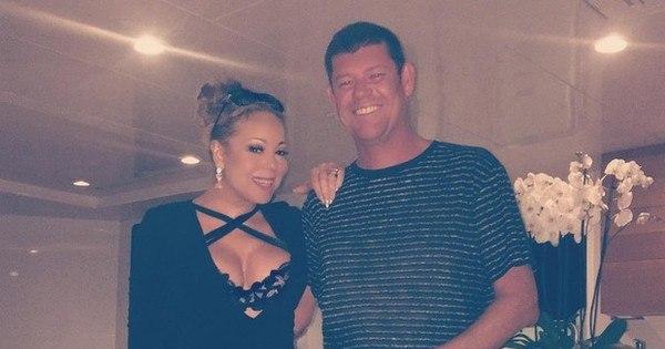 Mariah Carey posa ao lado do namorado bilionário e fãs comentam ...